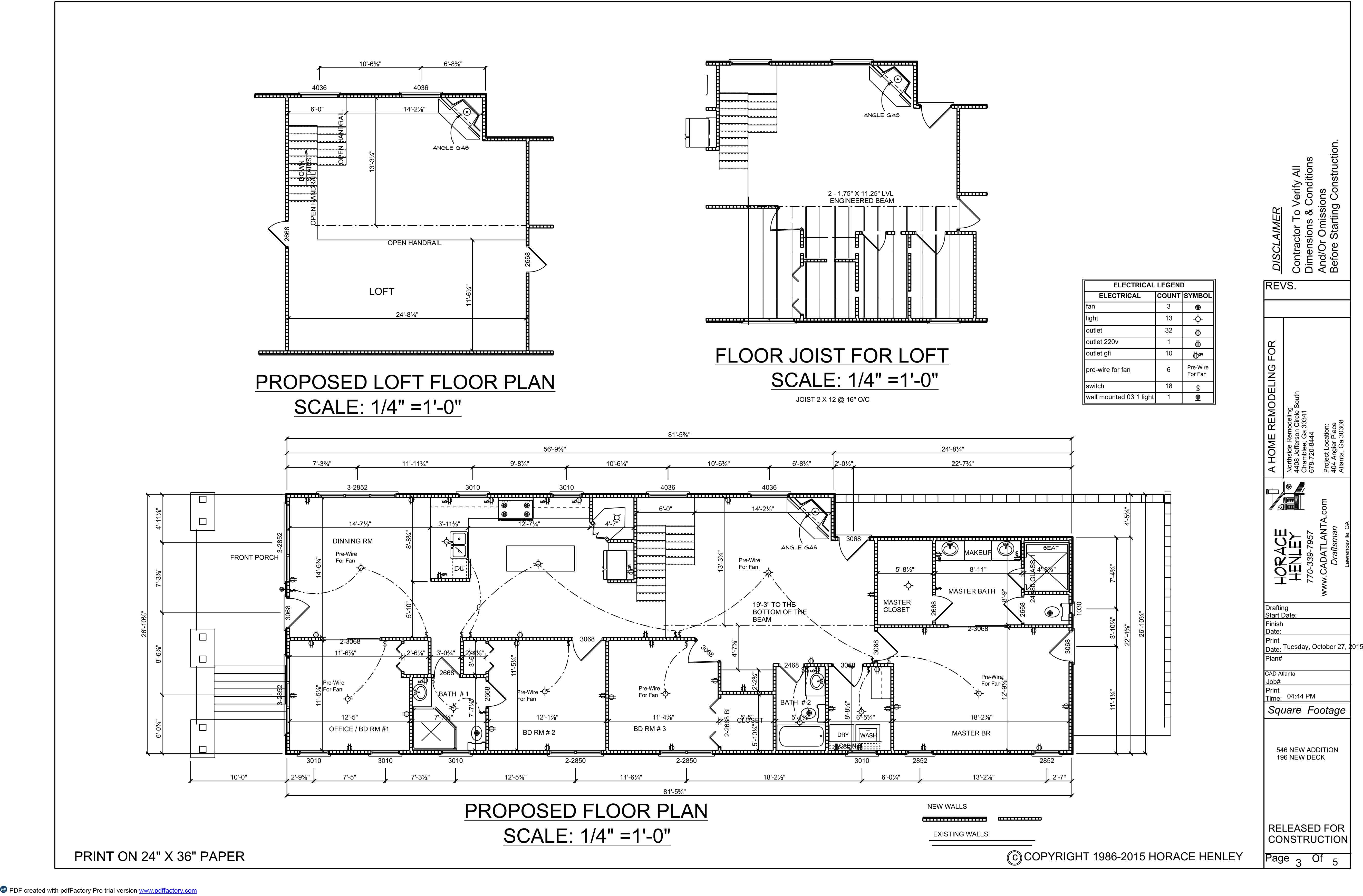 Cad Atlanta Legend Of Electrical Plan Before And After Pictures My Work Are At The Bottom This Page Thanks